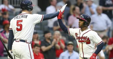 Freddie Freeman and Ozzie Albies