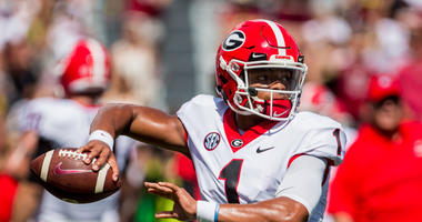 No UGA QB controversy, Fields just garbage-time QB