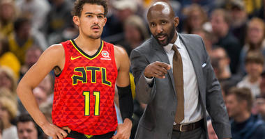 Lloyd Pierce; learning the game can be humbling for Trae Young