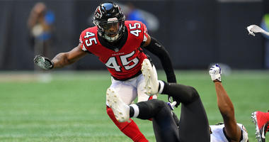 Jones on return: There was a little rust