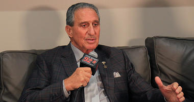 Atlanta Falcons team owner Arthur Blank