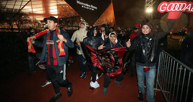Atlanta United fans after MLS Cup