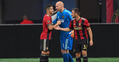 Atlanta United goalkeeper Brad Guzan