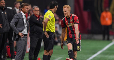 Atlanta United defender Jeff Larentowicz