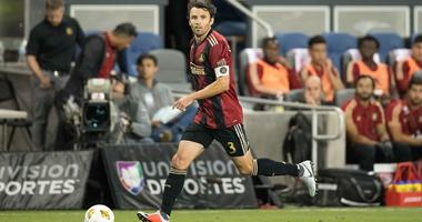 Atlanta United defender Michael Parkhurst