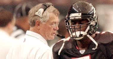 Dan Reeves: Confident in moving up to draft Mike Vick