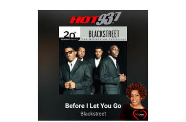 Blackstreet Before I Let You Go 1st #latenightlove