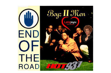 Boyz II Men End of the Road 1st #latenightlove