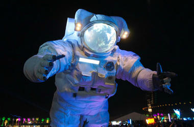 Moon Man at Coachella 2017