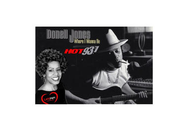 Donell Jones Where I Wanna Be 1st #latenightlove