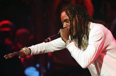 Rapper Fetty Wap performs at Drai's Beach Club - Nightclub at The Cromwell Las Vegas on September 18, 2016 in Las Vegas, Nevada