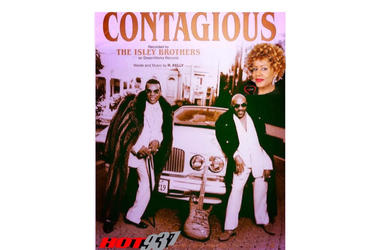 The Isley Brothers Contagious 1st #LateNightLove