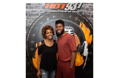 Khalid Host of Hot 93.7's Backyard Barbecue
