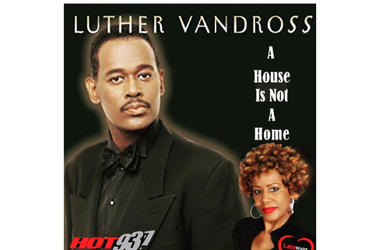 Luther Vandross A House Is Not A Home 1st #LateNightLove