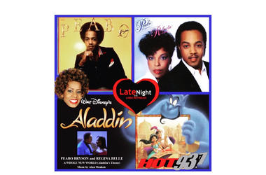 Peabo Bryson Feel The Fire 1st on #latenightlove