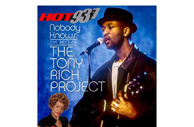 The Tony Rich Project 1st #latenightlove