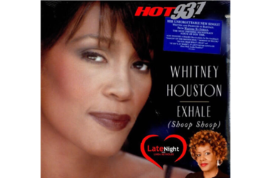 Whitney Houston 1st #latenightlove