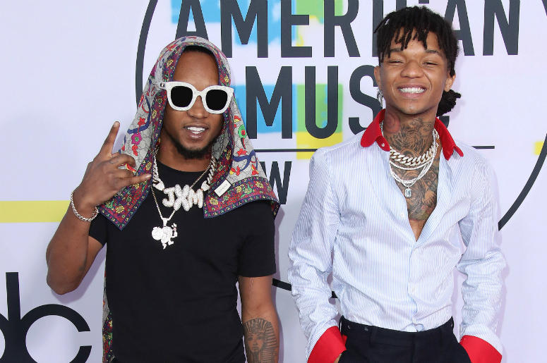 Rae Sremmurd at the 2017 American Music Awards at Microsoft Theater on November 19, 2017 in Los Angeles, California