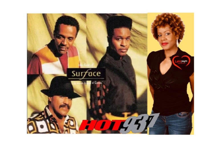 Surface The First Time 1st on #latenightlove - 90's RnB