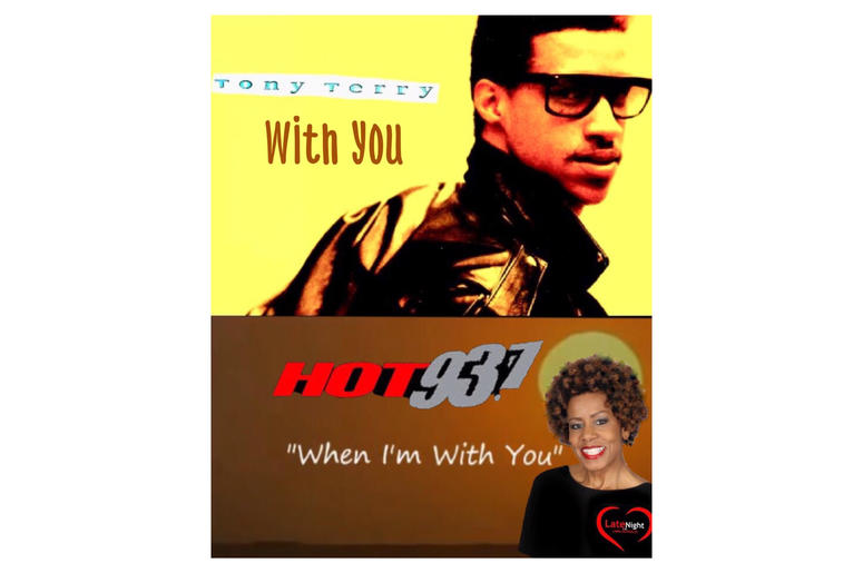 Tony Terry With You 1st #latenightlove