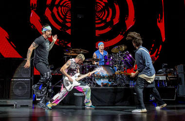 Red Hot Chili Peppers during Summerfest Music Festival at Henry Maier Festival Park