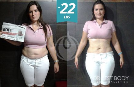Body Challenge Winner - 1st Place Women's Slim