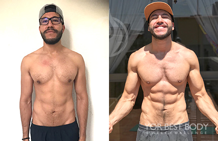 Body Challenge Winner - 1er Place Men's Sculpt