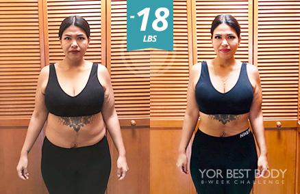 Body Challenge Winner - 2nd Place Women's Slim