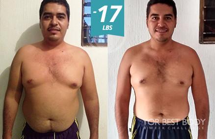 Body Challenge Winner - 3er Place Men's Slim