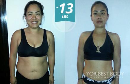 Body Challenge Winner - 3er Place Women's Slim