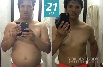 Body Challenge Winner - 1st Place Men's Slim