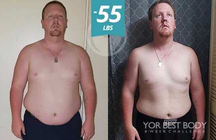 Body Challenge Winner - 2nd Place Men's Slim