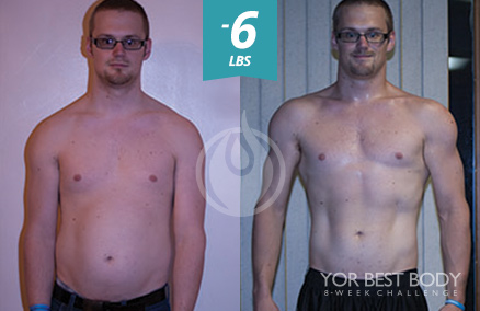 Body Challenge Winner - 3rd Place Men's Slim