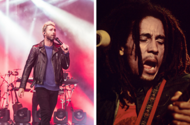 Adam Levine and Bob Marley