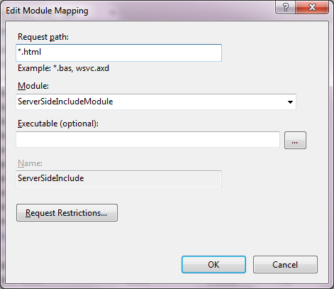 Handler Mappings for HTML files