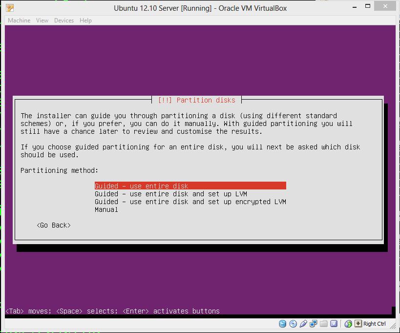 Ubuntu Server Install Step 07