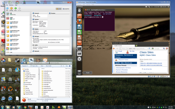 Linux in VirtualBox