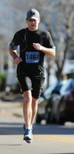 Thomas Sjolshagen running