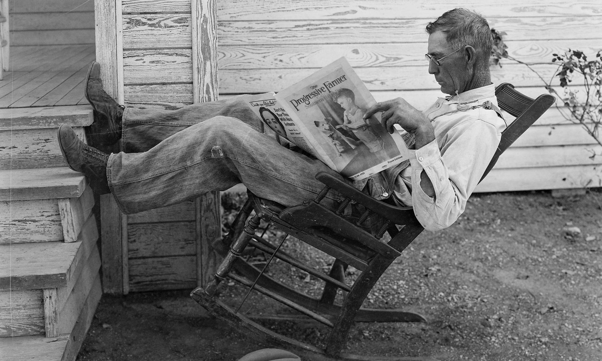 quiet-By George W. Ackerman (The Progressive Farmer) [Public domain], via Wikimedia Commons