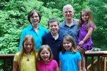 Richard and Alison Priest with Grandkids