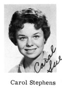 Carol Sue Stephens (Sawyer)