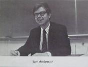 Sam Anderson (English Teacher)
