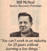 Bill McNeal (Recovery Supervisor)