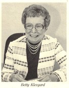 Betty Klevgard (Purchasing Agent)
