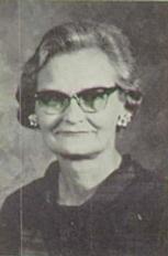 Alice Hayden Turley (History Teacher)