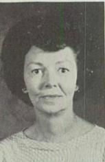 Margaret Valerie Hunnicutt Née Burress (English And Journalism Teacher)