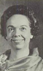 Fonda Wayde Née Graham Wren (Home Economics Teacher)