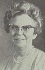 Majel Muriel Née Cooprider Nighswonger (Head Of Home Economics Department)