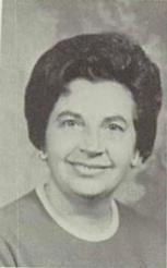 W Maxine Stelovich Née Smith (Home Economics Teacher)