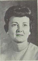 Verla Odell Griffiths Née Wallace (English Teacher)